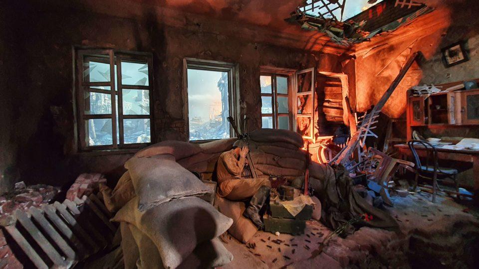 изображение одного из зала в музее Дорога памяти