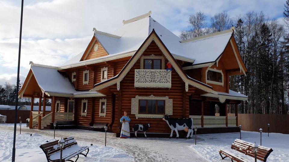 Музей молока и глазированного сырка Б.Ю. Александров, изображение здания музея молока и глазированного сырка