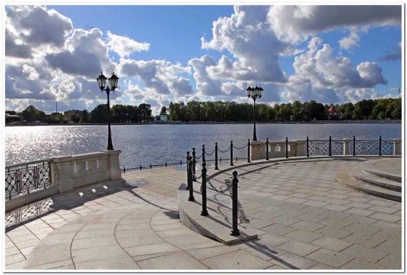 Калининград Верхний пруд