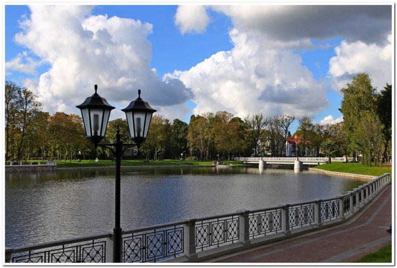 Верхнее озеро Калининград