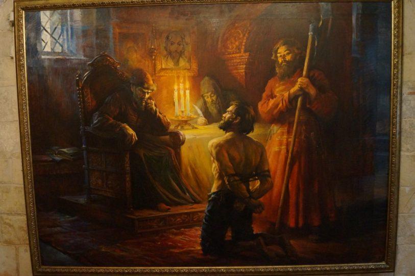 Иван Грозный на картине
